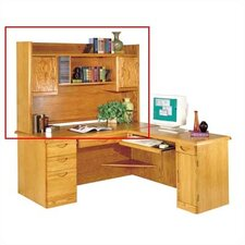 "Waterfall 40.75"" H x 64.5"" W Desk Hutch"