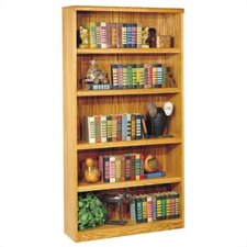 Waterfall Bookcase with 5 Shelves