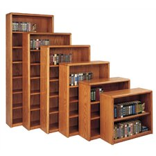 "Contemporary 36"" H Three Shelf Bookcase"