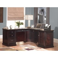 <strong>Martin Home Furnishings</strong> Kathy Ireland Home by Martin Fulton Executive Desk