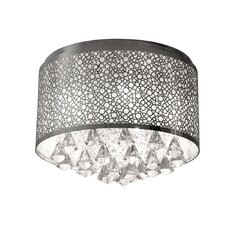 5 Light Crystal Flush Mount