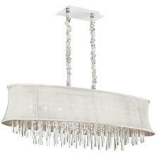 <strong>Dainolite</strong> 8 Light Crystal Chandelier
