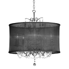 Vanessa 5 Light Crystal Chandelier