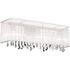 <strong>Dainolite</strong> Crystal 4 Light Bath Vanity Light