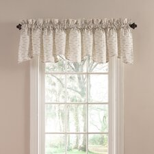Greenhouse Cotton Rod Pocket Ruffled Curtain Valance