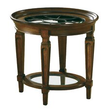 <strong>Hekman</strong> Accents Metal Grille End Table