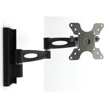 "Double Arm Wall Mount for 13""-30"" LCD TV in Black"