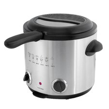 1.5 Litre Family Deep Fryer in Brushed Stainless Steel