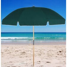 7.5' Fiberglass Beach Umbrella with Carry Bag