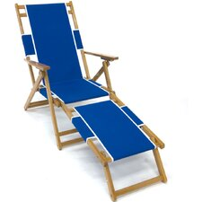 <strong>Frankford Umbrellas</strong> Oak Wood Beach Chair