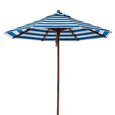 7.5' 8-panel Striped Umbrella