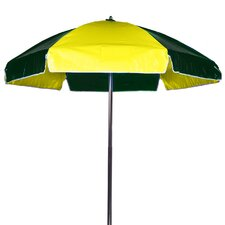 6.5' Lifeguard Umbrella - Vinyl with Alternating Panels