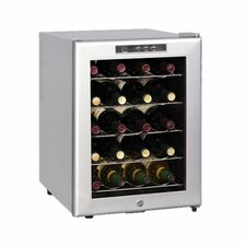 20 Bottle Single Zone Thermoelectric Wine Refrigerator