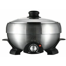Multi-Cooker Shabu-Shabu and Grill with Lid
