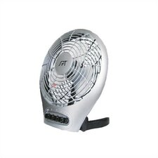 "<strong>Sunpentown</strong> 7"" Silent Electric Table Fan w/Ionizer"