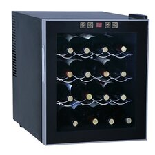 <strong>Sunpentown</strong> Thermoelectric 16-Bottle Wine Refrigerator
