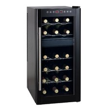 "<strong>Sunpentown</strong> 28.43"" Dual Zone Thermo-Electric Wine Cooler with Heating"