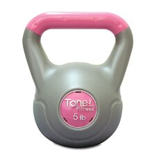 <strong>Tone Fitness</strong> Cement Filled Kettlebell