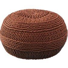 Dahl Color Cable Knit Ottoman