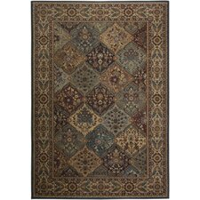 <strong>Rizzy Home</strong> Bellevue Brown Multi Rug