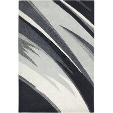 Colours Black/White Rug