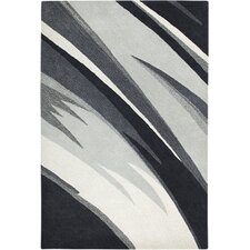 Colours Black & White Area Rug