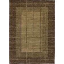 <strong>Rizzy Home</strong> Galleria Beige/Brown Rug
