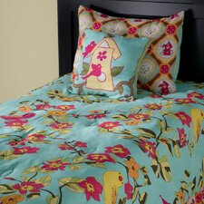 Birds in Paradise Kids 3 Piece Comforter Set