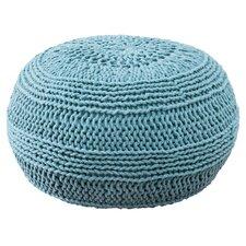 ColorCable Knit Ottoman