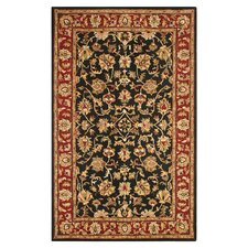 Volare Black/Rust Rug