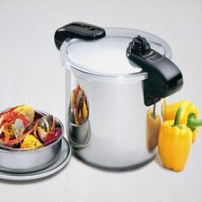 8-Quart Stainless Steel Pressure Cooker