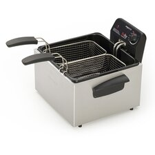 Dual Basket ProFry 2.8 Liter Immersion Deep Fryer