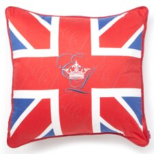 Stockport Union Jack Cotton Decorative Pillow