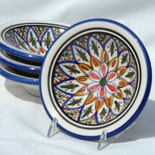 <strong>Le Souk Ceramique</strong> Tabarka Design Serving Dish (Set of 4)