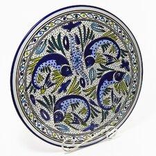 """Aqua Fish Design 15"""" Round Platter"""