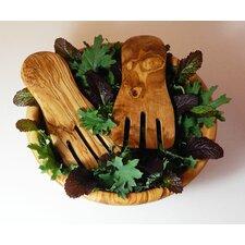 Olive Wood Salad/Pasta Hand (Set of 2)