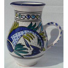 Aqua Fish Design Large Pitcher