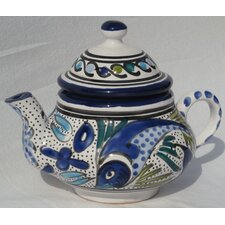 Aqua Fish Design Teapot
