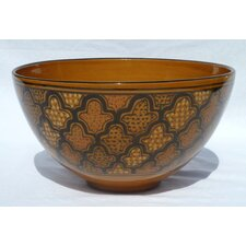 "<strong>Le Souk Ceramique</strong> Honey Design 12"" Serving Bowl"