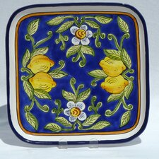 "Citronique Design 11.5"" Square Platter"