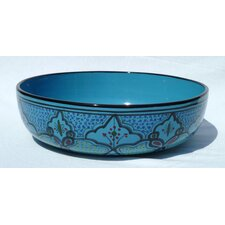 "<strong>Le Souk Ceramique</strong> Sabrine Design 12"" Serving Bowl"