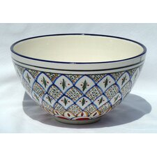 "Tabarka Design 12"" Bowl"