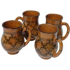 Honey Design 16 oz. Large Mug (Set of 4)