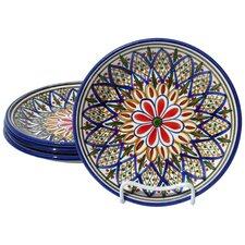 """Tabarka Design 8"""" Side Plates (Set of 4)"""