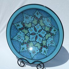 "<strong>Le Souk Ceramique</strong> Sabrine Design 16"" Serving Bowl"