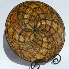 "Honey Design 15"" Round Platter"
