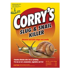 3.5 Lbs Corry's Slug and Snail Killer