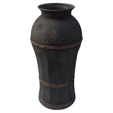 Iron Base Vase