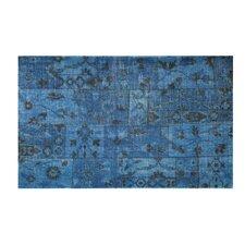 Puzzle Blue Rug