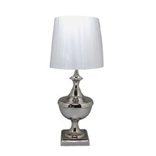 "Lucas 21"" H Table Lamp with Drum Shade"